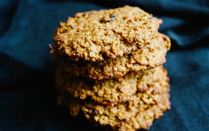Carror-Cake-Cookies mit Cranberries