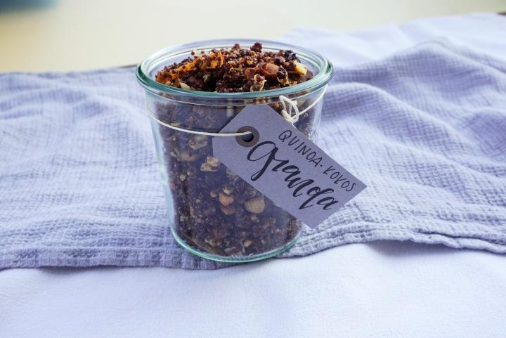 Quinoa Granola mitKokos