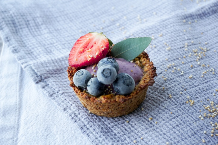 Berry Granola Cups